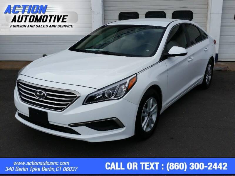 2017 Hyundai Sonata for sale at Action Automotive Inc in Berlin CT