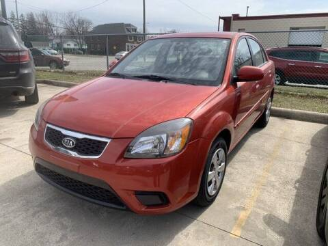 2010 Kia Rio for sale at Martell Auto Sales Inc in Warren MI