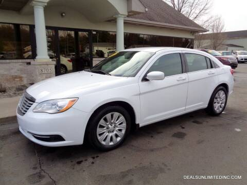 2014 Chrysler 200 for sale at DEALS UNLIMITED INC in Portage MI