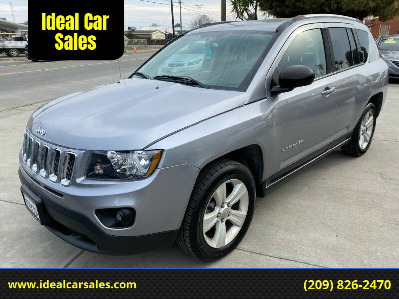 2016 Jeep Compass for sale at Ideal Car Sales in Los Banos CA