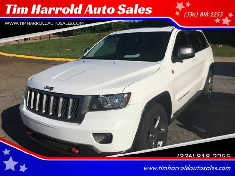 2013 Jeep Grand Cherokee for sale at Tim Harrold Auto Sales in Wilkesboro NC
