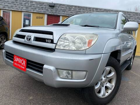 2004 Toyota 4Runner for sale at Superior Auto Sales, LLC in Wheat Ridge CO
