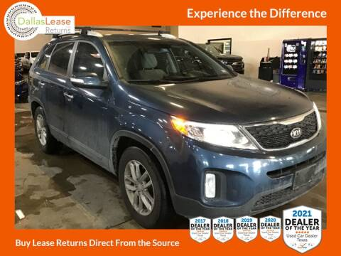 2014 Kia Sorento for sale at Dallas Auto Finance in Dallas TX