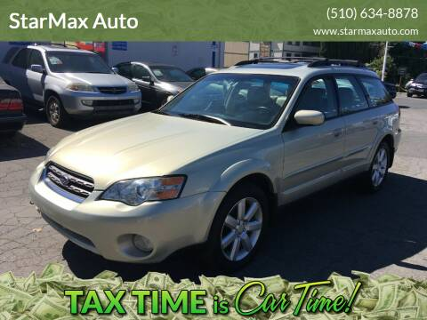 2006 Subaru Outback for sale at StarMax Auto in Fremont CA