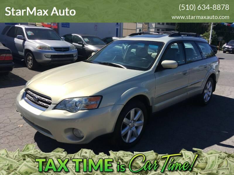 2006 Subaru Outback for sale at StarMax Auto in Fremont CA