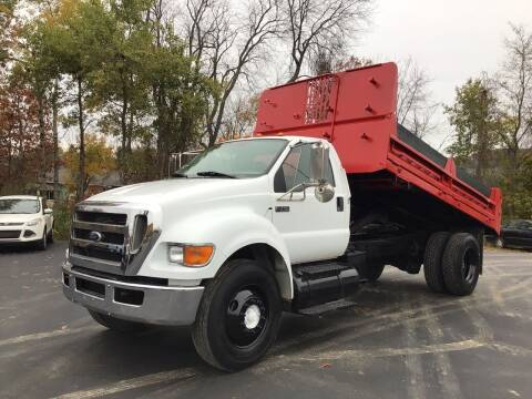 2010 Ford F-750 Super Duty for sale at AFFORDABLE AUTO SVC & SALES in Bath NY