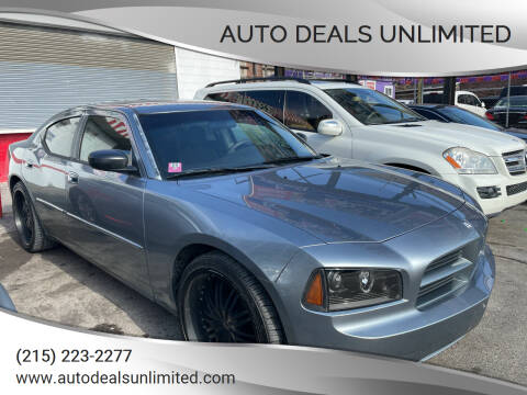 2007 Dodge Charger for sale at AUTO DEALS UNLIMITED in Philadelphia PA