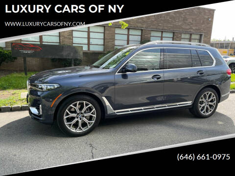 2020 BMW X7 for sale at LUXURY CARS OF NY in Queens NY