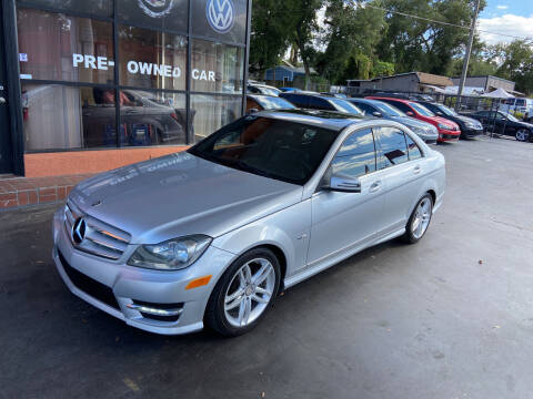 2012 Mercedes-Benz C-Class for sale at Kings Auto Group in Tampa FL