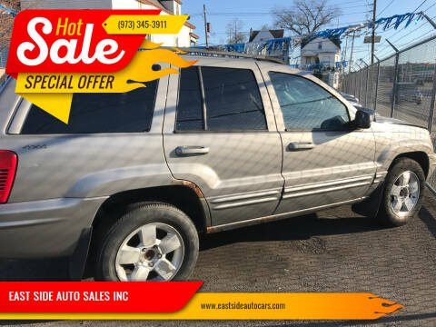 2001 Jeep Grand Cherokee for sale at EAST SIDE AUTO SALES INC in Paterson NJ
