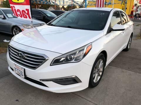 2015 Hyundai Sonata for sale at Plaza Auto Sales in Los Angeles CA