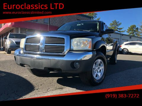 2005 Dodge Dakota for sale at Euroclassics LTD in Durham NC