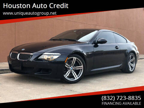 2010 BMW M6 for sale at Houston Auto Credit in Houston TX