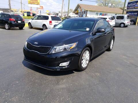 2015 Kia Optima for sale at Rucker's Auto Sales Inc. in Nashville TN