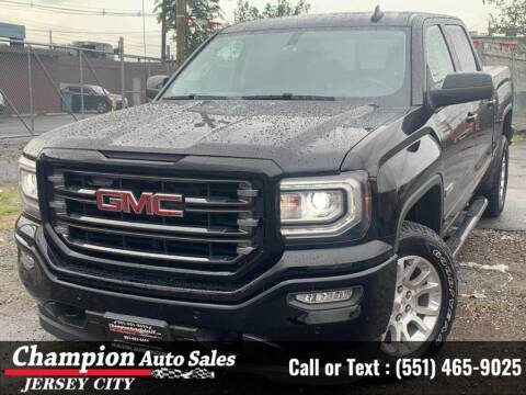 2017 GMC Sierra 1500 for sale at CHAMPION AUTO SALES OF JERSEY CITY in Jersey City NJ