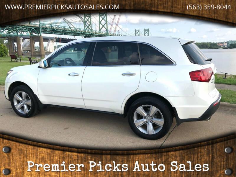 2010 Acura MDX for sale at Premier Picks Auto Sales in Bettendorf IA
