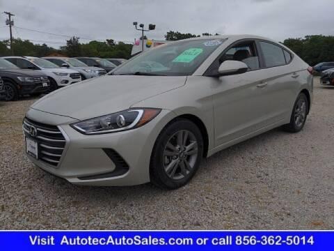 2018 Hyundai Elantra for sale at Autotec Auto Sales in Vineland NJ