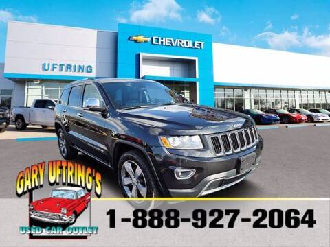 2014 Jeep Grand Cherokee for sale at Gary Uftring's Used Car Outlet in Washington IL