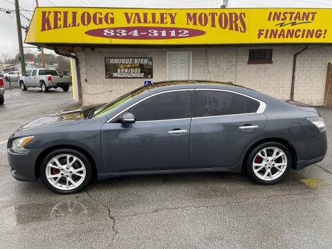 2012 Nissan Maxima for sale at Kellogg Valley Motors in Gravel Ridge AR