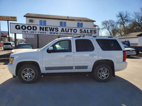 2014 Chevrolet Tahoe for sale at GOOD NEWS AUTO SALES in Fargo ND