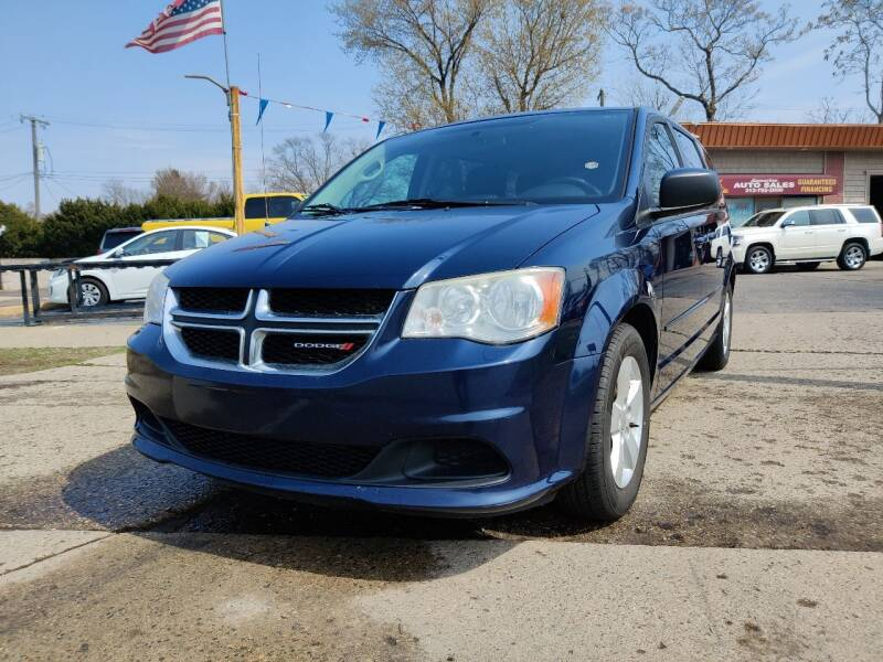 2013 Dodge Grand Caravan for sale at Lamarina Auto Sales in Dearborn Heights MI