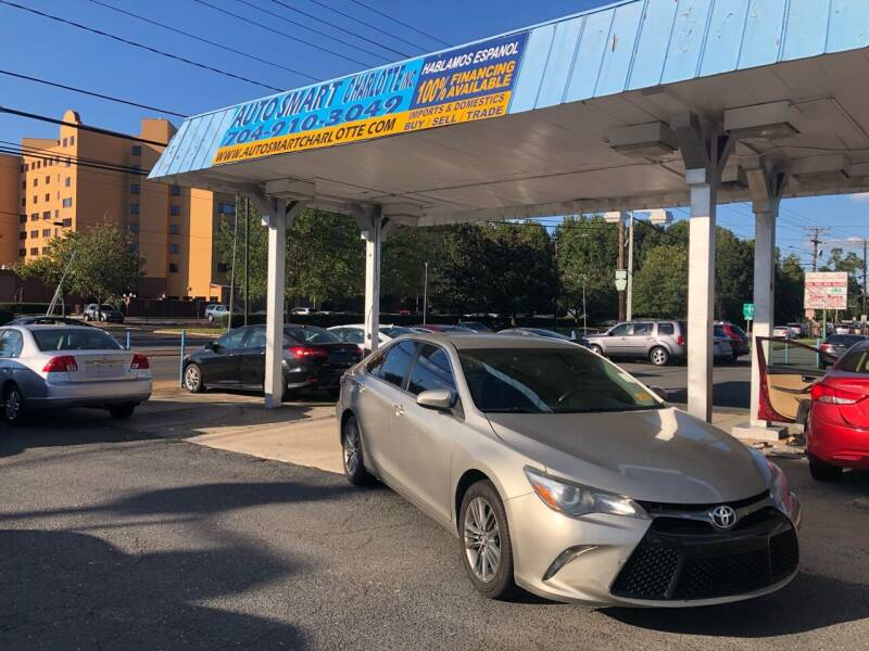2015 Toyota Camry for sale at Auto Smart Charlotte in Charlotte NC