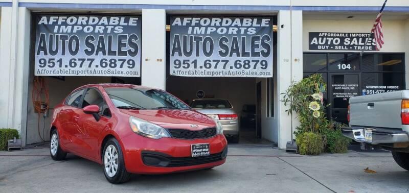2014 Kia Rio for sale at Affordable Imports Auto Sales in Murrieta CA
