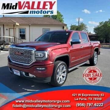 2016 GMC Sierra 1500 for sale at Mid Valley Motors in La Feria TX