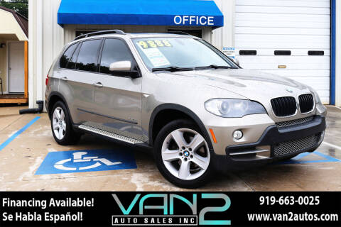 2009 BMW X5 for sale at Van 2 Auto Sales Inc in Siler City NC
