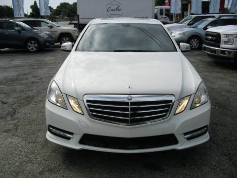 2012 Mercedes-Benz E-Class for sale at SUPERAUTO AUTO SALES INC in Hialeah FL