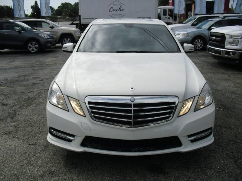 2012 Mercedes-Benz E-Class for sale at SUPERAUTO AUTO SALES INC in Hialeah FL