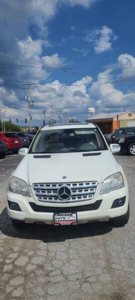 2010 Mercedes-Benz M-Class for sale at Chicago Auto Exchange in South Chicago Heights IL