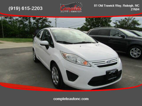 2013 Ford Fiesta for sale at Complete Auto Center , Inc in Raleigh NC
