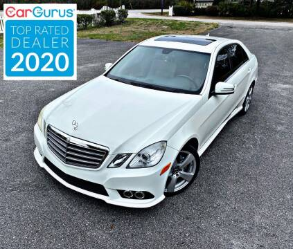 2010 Mercedes-Benz E-Class for sale at Brothers Auto Sales of Conway in Conway SC