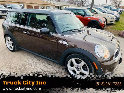 2008 MINI Cooper Clubman for sale at Truck City Inc in Des Moines IA