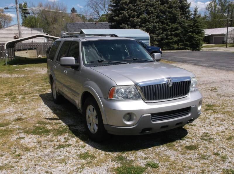 2003 Lincoln Navigator for sale at Straight Line Motors LLC in Fort Wayne IN