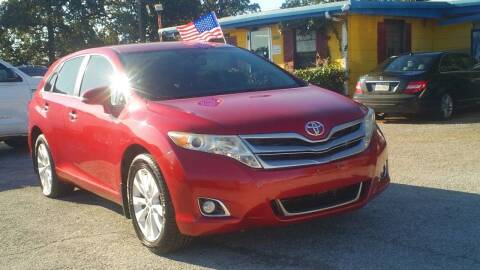 2013 Toyota Venza for sale at Global Vehicles,Inc in Irving TX