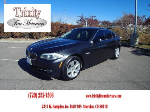 2013 BMW 5 Series for sale at TRINITY FINE MOTORCARS in Sheridan CO