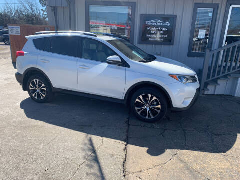 2015 Toyota RAV4 for sale at Rutledge Auto Group in Palestine TX