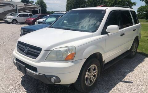2005 Honda Pilot for sale at Champion Motorcars in Springdale AR