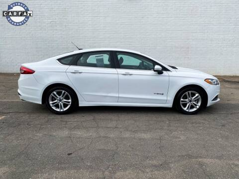 2018 Ford Fusion Hybrid for sale at Smart Chevrolet in Madison NC