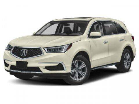 2019 Acura MDX for sale at DAVID McDAVID HONDA OF IRVING in Irving TX