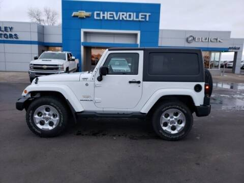 2014 Jeep Wrangler for sale at Finley Motors in Finley ND