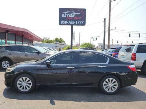 2014 Honda Accord for sale at Rayyan Auto Mall in Lexington KY