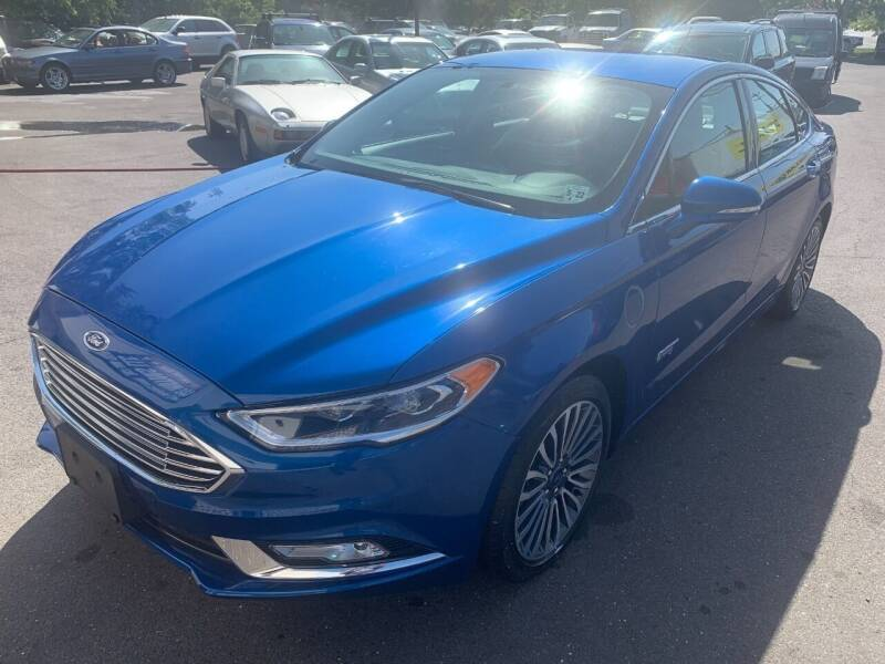 2017 Ford Fusion Energi for sale in Langhorne, PA