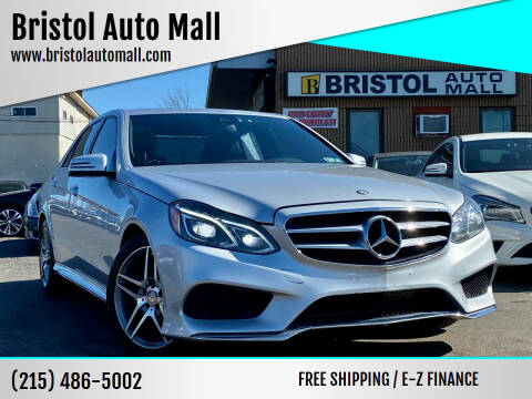 2016 Mercedes-Benz E-Class for sale at Bristol Auto Mall in Levittown PA