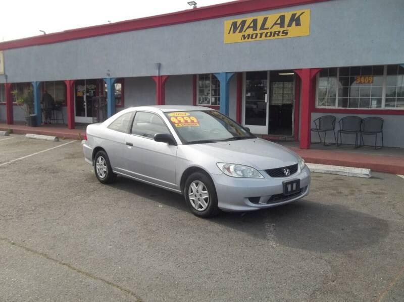 2004 Honda Civic for sale at Atayas Motors INC #1 in Sacramento CA