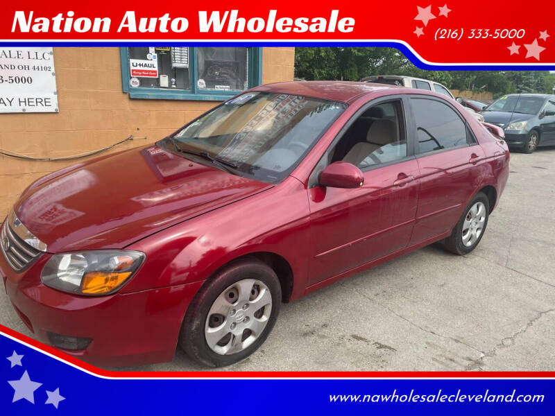 2009 Kia Spectra for sale at Nation Auto Wholesale in Cleveland OH