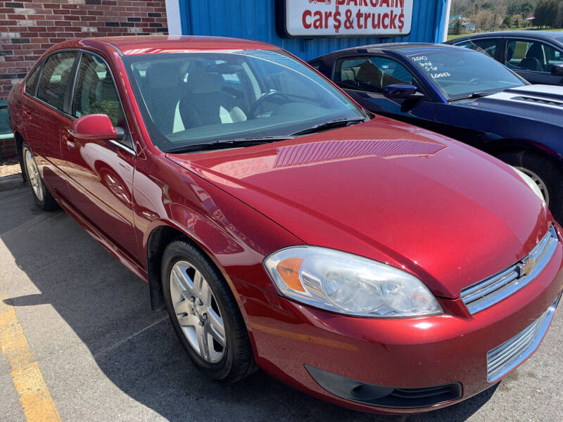 2011 Chevrolet Impala for sale at BURNWORTH AUTO INC in Windber PA