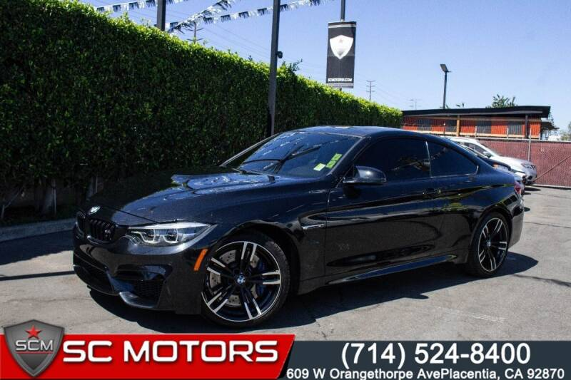 2018 BMW M4 for sale in Placentia, CA